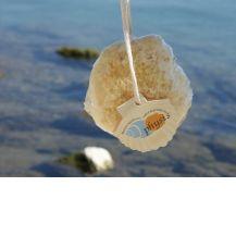 Естествена бяла морска гъба  (honeycomb white)