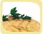 Хумус със зелен лук