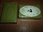 Натурален сапун от зехтин (зелен) 100g